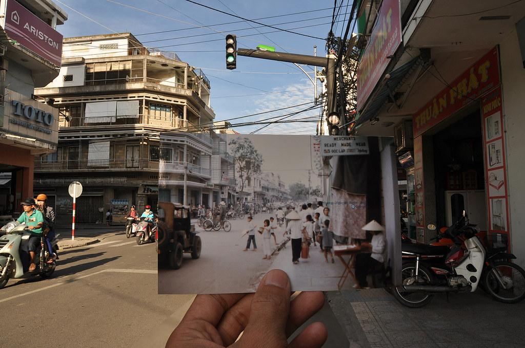 đường phố Nha Trang 1967