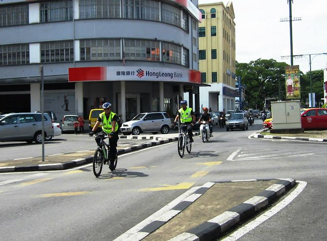 Cops on wheels