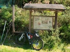22 Bajada a Aranza, panel ruta de las Grellas (PK 38)