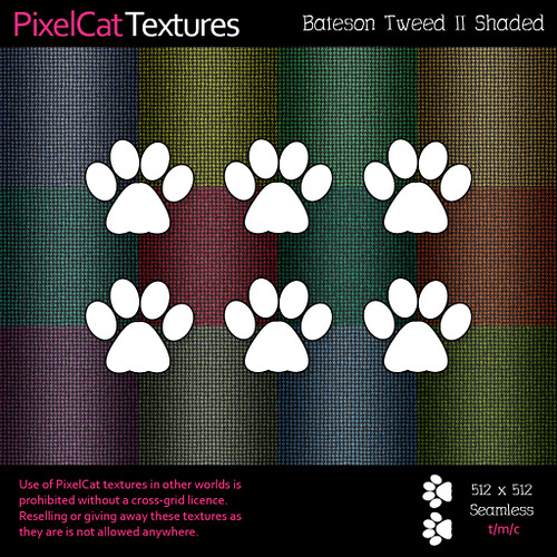 PixelCat Textures - Bateson Tweed II Shaded