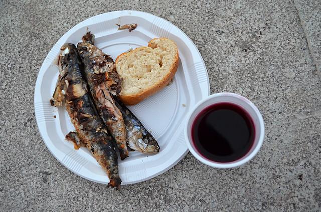 Sardines at Sardinada