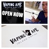 Go go go!!!! Open now! #vapingapeie