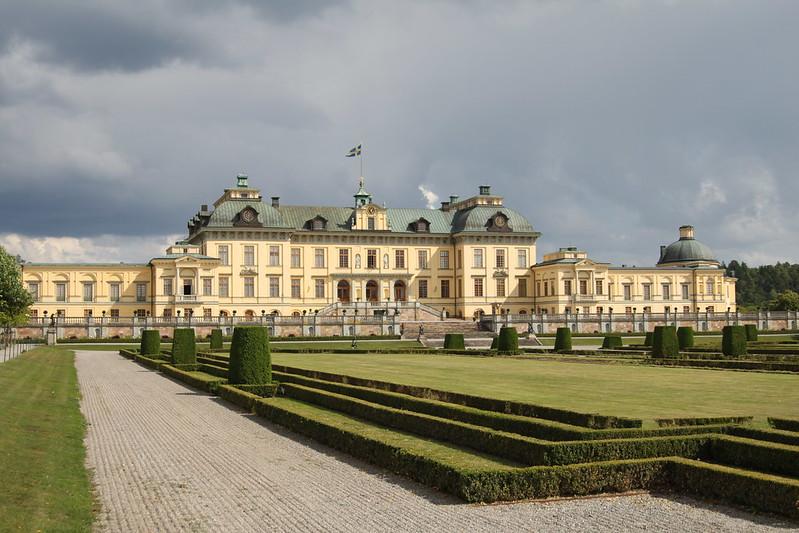 Båtutflykt till Drottningholm