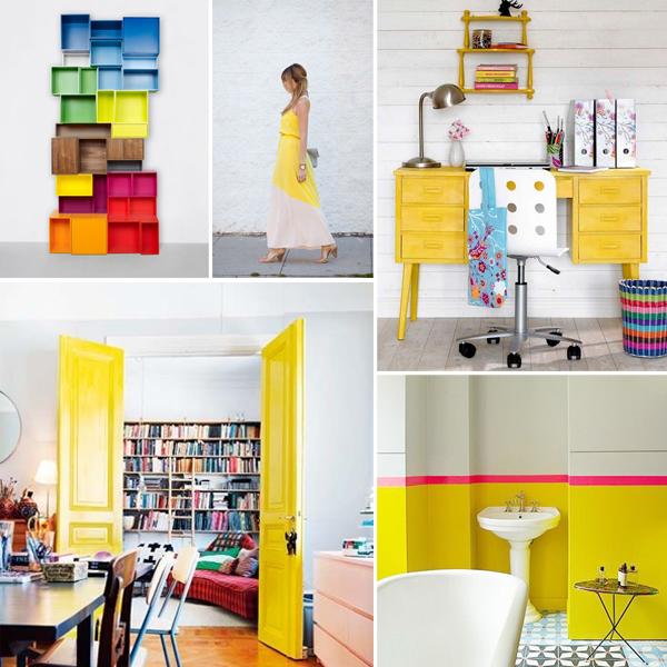 yellow modern