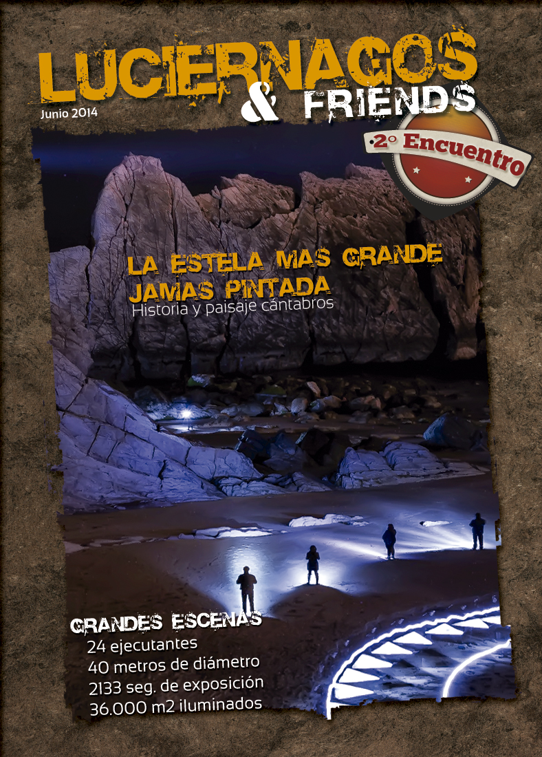 II Encuentro Luciernagos & friends  La estela más grande jamás pintada