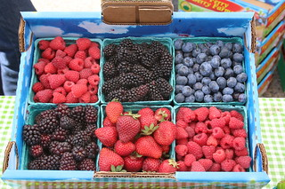 Berries at Camas Farmers' Market