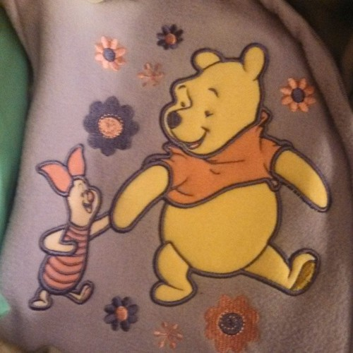 Pooh and Piglet.