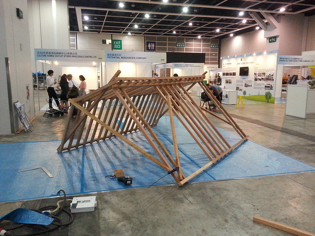 Asia senior expo wooden hut HKDI DESIS