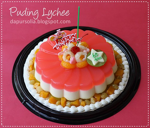 Puding Lychee