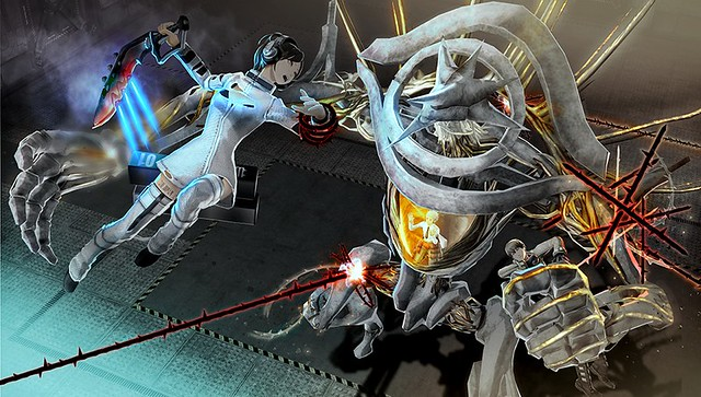 Freedom Wars on PS Vita