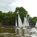 14 June, 2014 - 14:25 - English fleet chasing a French Commodore