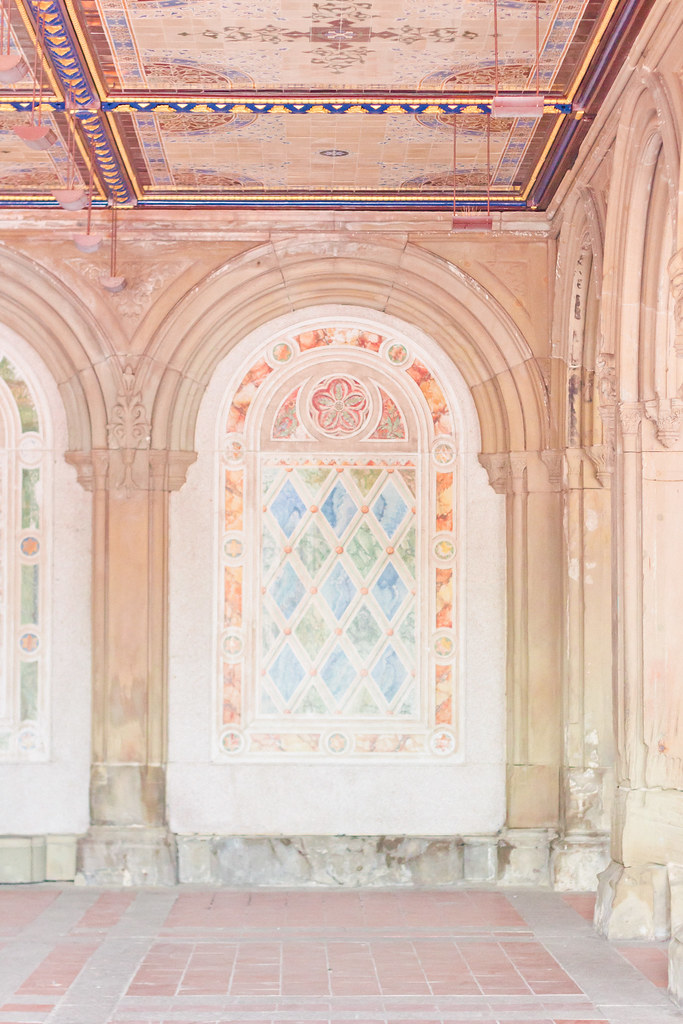 {bethesda terrace in central park, NYC} via chevrons & éclairs