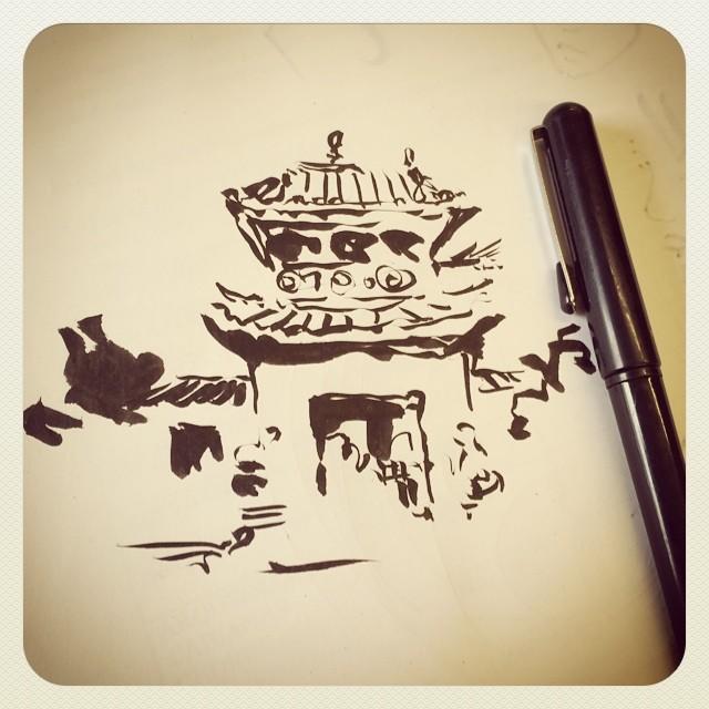 #doodles #pentel