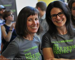 Oregon Manifest Bike Design Project reveal party-41