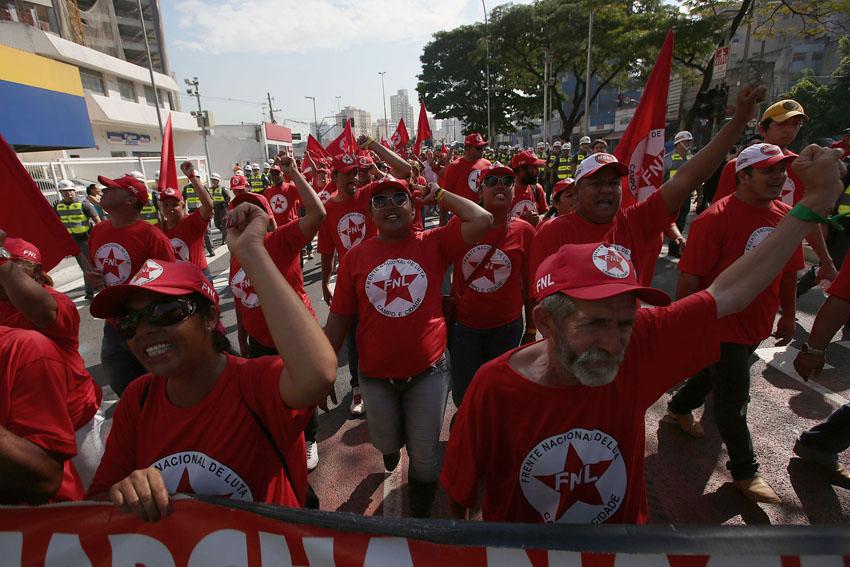 (21)BRASIL-SAO PAULO-MUNDIAL 2014-PROTESTA