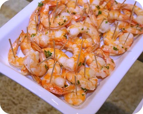 Shrimp Scampi Bites