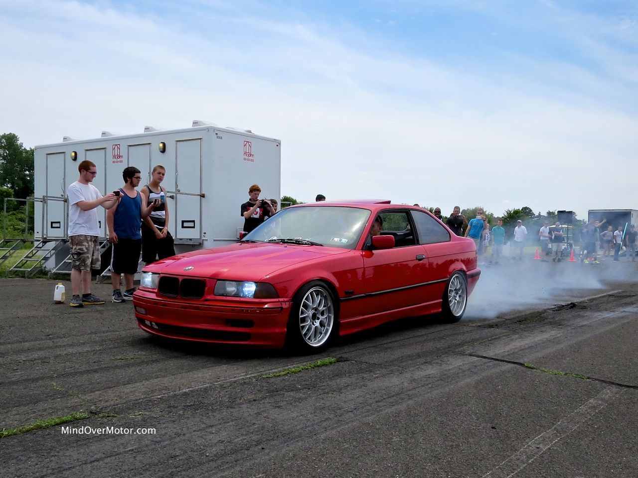 BMW E36 Burnout