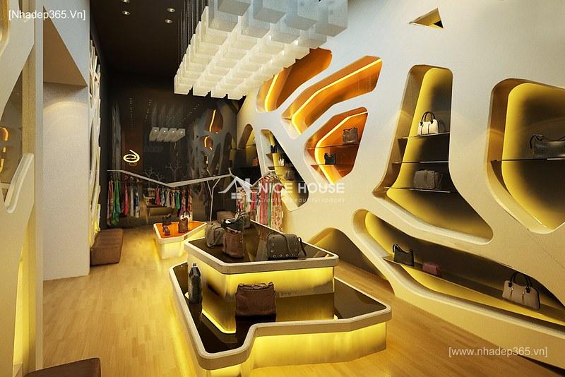 Thiết kế nội thất Shop quần áo KeangNam_3