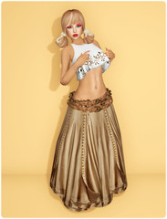Hudsons Clothing Co - Boho Gypsy (Tan)