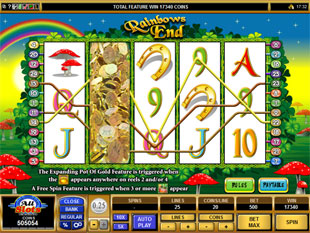Rainbows End Free Spins Prize