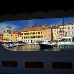 Rovinj, Croatia, view from the Adriatic Sea