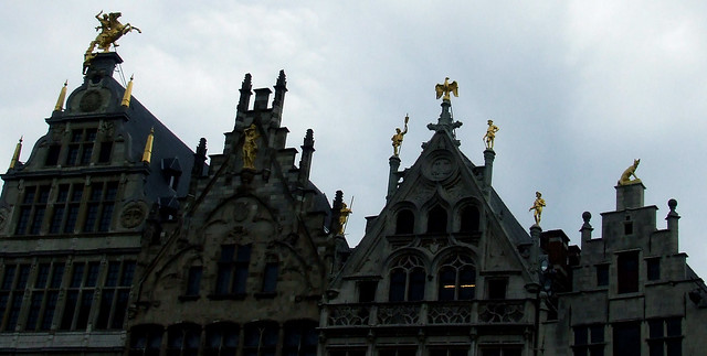 Antwerp guild halls