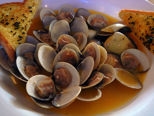 Steamers at Pirates Cove Pub in Ocean Shores, Washington