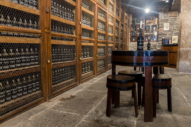 Wine racks - Blandy's Wine Lodge in Funchal