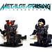 Lego Metal Gear Rising - Raiden by Tuminio