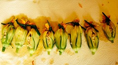 Foodlander Recipe: Squash Blossoms Tied w/Chives