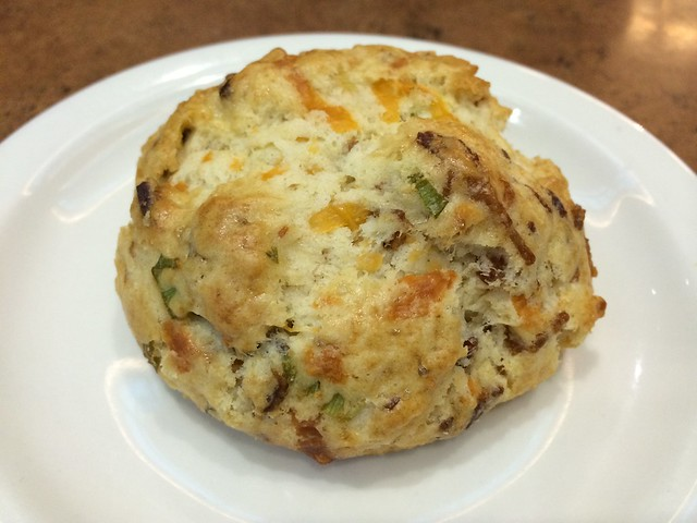 Breakfast scone - Capers Cafe