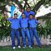 Representantes de la Colonia Guatemalteca