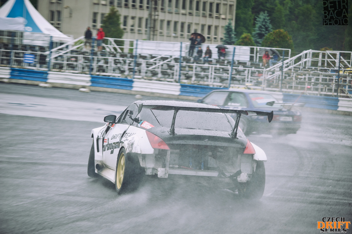 Czech Drift Series, CDS, Drift Allstars, Autodrom Sosnová, Česká Lípa, Turbogarage, Nissan 350Z,