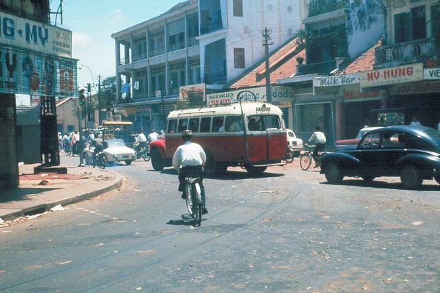 SAIGON 1965-67 - Góc Phan Thanh Giản và Đinh Tiên Hoàng