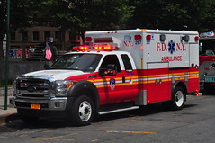 FDNY EMS Haztec Ambulance 297 17 Zebra