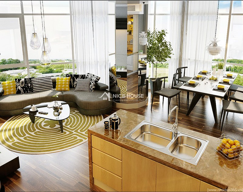 Thiết kế nội thất căn hộ Euro MultiComplex Arpatment_2