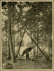 """Image from page 112 of """"In pine-tree jungles; a hand-book for sportsmen and campers in the great Maine woods"""" (1902)"""