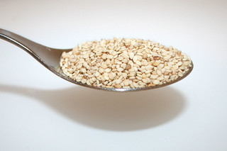 09 - Zutat Sesam / Ingredient sesame seeds