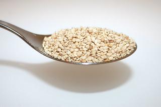 09 - Zutat Sesam / Ingredient sesame seeds