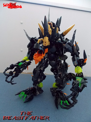 Hero Factory MOC - The Beastfather (1)
