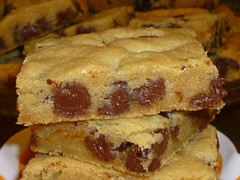 Chocolate Chip Cookie Bars…