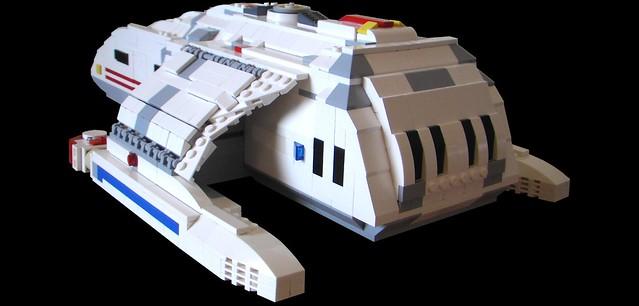 (Star Trek) Custom LEGO® Runabout (03)