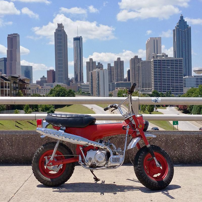 Honda CT70 Atlanta Skyline