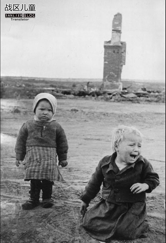 伟大卫国战争中的儿童68