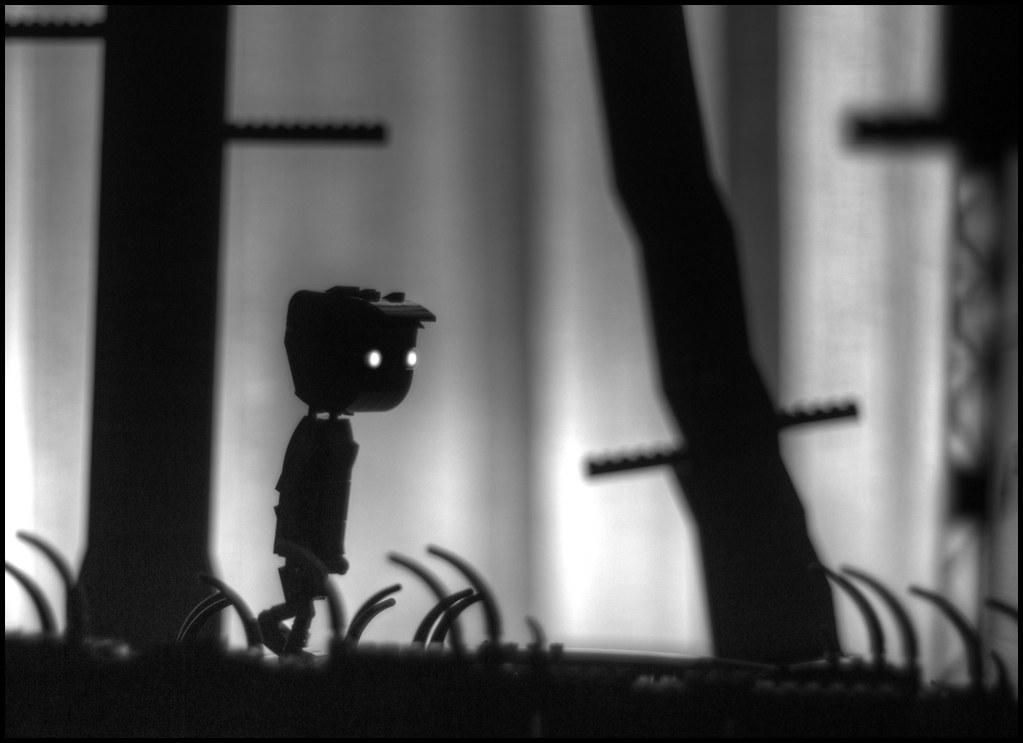 Limbo Lego Szene (custom built Lego model)