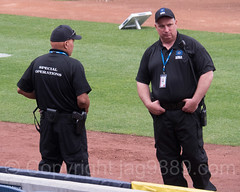 MSA Special Operations Officers inside Yankee Stadium, The Bronx, New York City