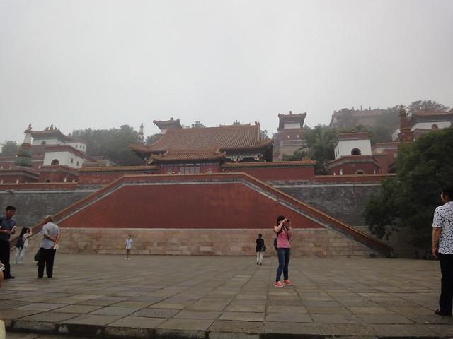 Colline de la longévité au Palais d'été à Beijing
