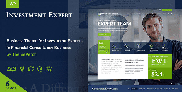 Investment Expert WordPress Theme free download
