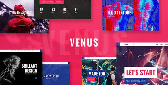 Venus WordPress Theme free download
