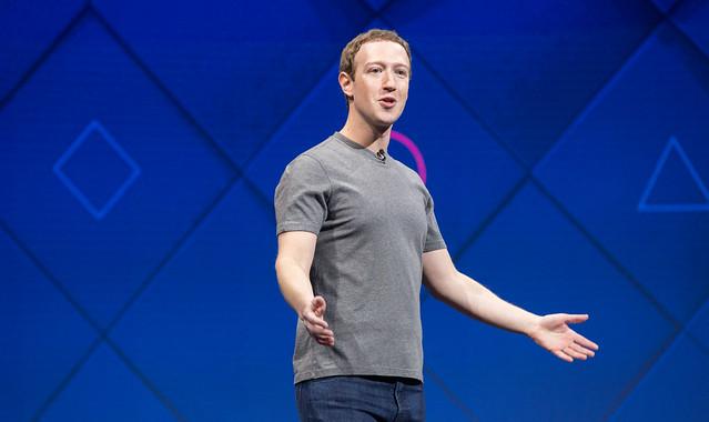 Facebook F8 2017 San Jose Mark Zuckerberg
